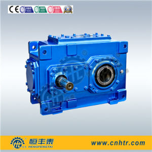 Hh Series Industry Bevel Helical Gear Reducer pictures & photos