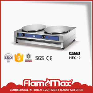 Electric Crepe Machine with CE&RoHS (HEC-2) pictures & photos