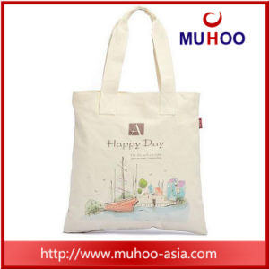 Customized Promotional Tote Handbag Sports Canvas/Cotton Bag for Beach pictures & photos