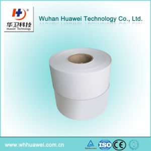 Custom Size and Shape Medical Surgical Nonwoven Adhesive Fixing Roll Tape pictures & photos