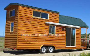 2017 with Loft Mobile House Trailer, Attic Prefabricated Wood Houses, Russian Wood Houses for Sale (TH-077) pictures & photos