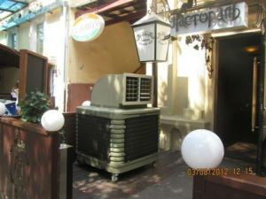 18000m3/H Plastic Water Cooled Movable Fan New Air Cooler pictures & photos