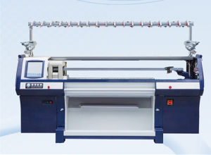 Three System Auto Jacquard Knitting Machine pictures & photos