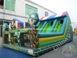 2017 Inflatable Military Playground for Children pictures & photos