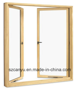 Germany Style Aluminium Window Cladding Grill Design Casement French Window pictures & photos