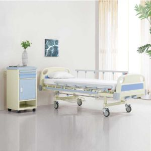 Medical Two Wave 3 Fold Nursing Bed for Metal pictures & photos