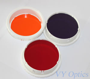 Optical Colored Glass Filters for Light Therapy pictures & photos