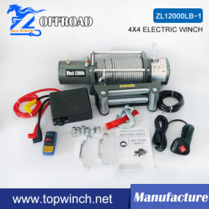 SUV 4X4 12V DC Electric Winch with Ce Certification (12000lb-1) pictures & photos