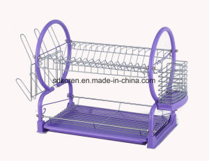 Multipurpose Two Tier Dish Drainer pictures & photos