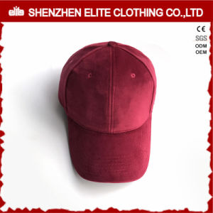 Wholesale Custom Fashion Hats 6 Panel Velvet Baseball Cap (ELTBCI-19) pictures & photos