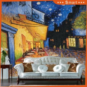 The Silent Night Country Scenery High Resolution Custom Cotton Canvas Art Prints Model No: Hx-4-018 pictures & photos