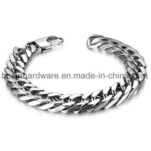 Stainless Steel Faceted Flat Curb Link Chain pictures & photos