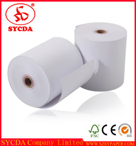 80mm 57mm Virgin Pulp Hot Sale Thermal Fax Paper pictures & photos