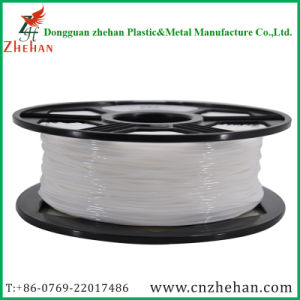 Exported Raw Resin Flexible 3.0mm White 3D Printing Filament pictures & photos