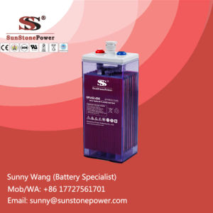Deep Cycle Solar Power Storage Batteries 2V 420ah Opzs Battery pictures & photos