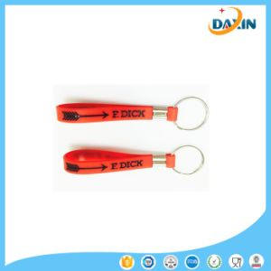 China Supplier Promotional Gift Custom Metal Silicone Key Chain pictures & photos