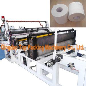 Toilet Rolls Making Machine Toilet Tissue Rewinding Making Machine pictures & photos