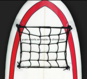 Super Stretchy Bungee Net, Suction Cargo Net for Kayaks Sup Surfboard