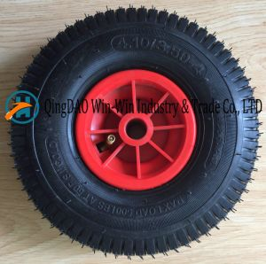 Wheelbarrow Rubber Wheel with Plastic Rim (4.10/3.50-4) pictures & photos