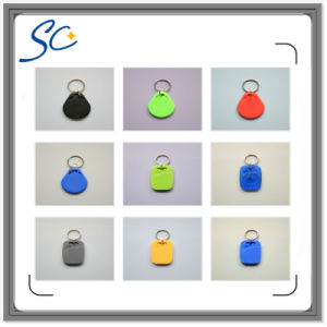 Rewritable Waterproof 125kHz T5577 RFID Keyfob