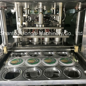 Fruit Jelly Filling and Sealing Machine for Plastic Cups pictures & photos
