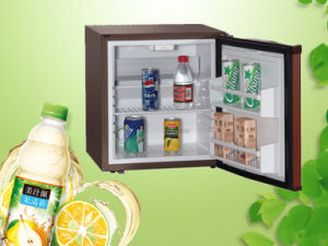 Brown Silent Beverage Cooler 28L Absorption Minibar for Hotel and Office pictures & photos