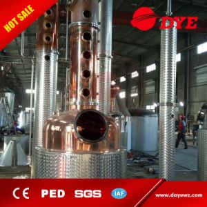 Alcohol Distillation Equipment Whisky Copper Distiller pictures & photos