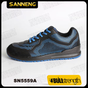Blue Kpu Trainer Safety Shoes with S1p Src pictures & photos