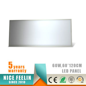 120lm/W 1200*600mm No Flickering 60W LED Panel with Ce/RoHS Approval pictures & photos