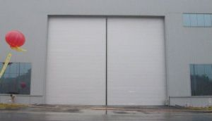 Heavy Duty Industrial Sliding Door, Galvanized Steel Sheet, PU Foam pictures & photos