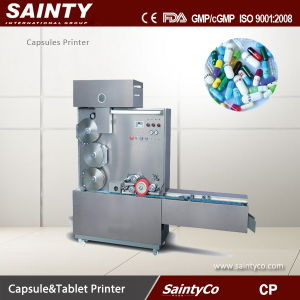 Cp Series Pharmacuetical Machine Double Photo Register Directional Capsule Printing Machine