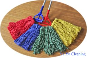 Color Coding Loop End Cotton Wet Mop (YYCM-400E) pictures & photos