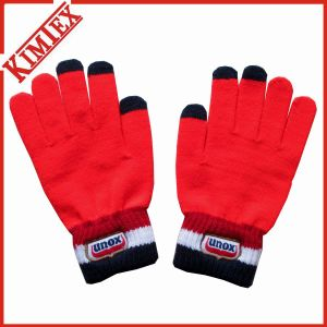 Unisex 100% Acrylic Magic Knitted Texting Screen Touch Glove pictures & photos