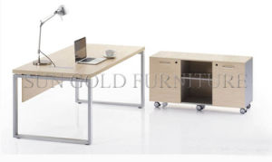 Modern Steel Leg Office Table (SZ-OD077) pictures & photos