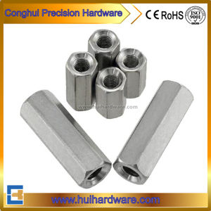 Stainless Steel 304 Hex Coupling Nut Long Nut DIN6334 pictures & photos