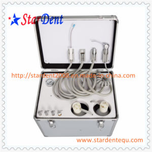 Portable Dental Unit (Manual Control System) of Hospital Medical Lab Surgical Equipment pictures & photos