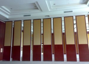 China Acoustic Movable Partition Wall for Hotel