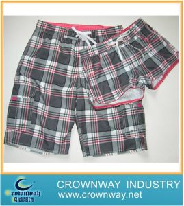 Check Board Shorts for Lovers (CW-LB-S-4) pictures & photos