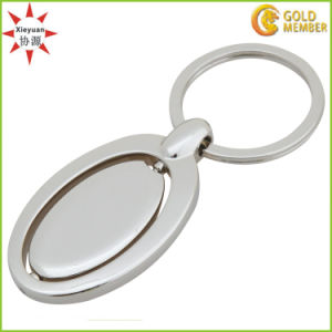 Can Do Custom Logo Metal Rotating Key Rings pictures & photos