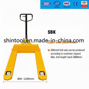 Supper Wide Pallet Truck Sbk pictures & photos
