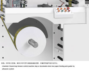 Rtop-330 Automatic Intermittent Rotary Die Cutting Machine for Printed Label pictures & photos