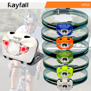 Colors Optional Rayfall LED Headlamp Flashlight (Model: HP3A)