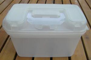 Plastic Transparent Tool Box Storage Case (SF-G260) pictures & photos