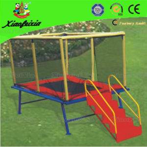 Mini Square Trampoline with Ladder (LG054) pictures & photos