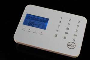 Elegent Touch Keypad Wireless GSM Alarm System Panel by APP pictures & photos