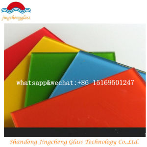 Color Flat Tempered Laminated Glass with Ce/ISO9001/CCC Certification pictures & photos