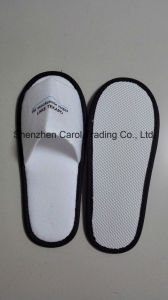 Hotel Napped Fabric Fine Disposable Slipper pictures & photos