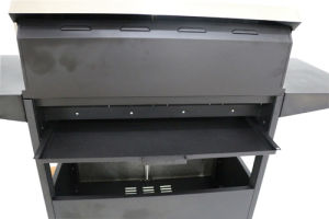 Gas Grill Storage Cabinet 4-Burner BBQ pictures & photos