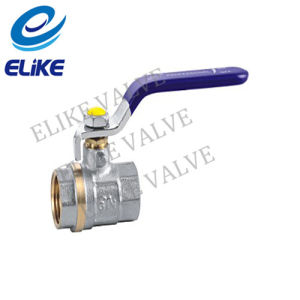 Nickel Coating Brass Ball Valve for Ukraine Market