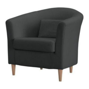 Modern Fabric Round Sofa Chair (1601) pictures & photos